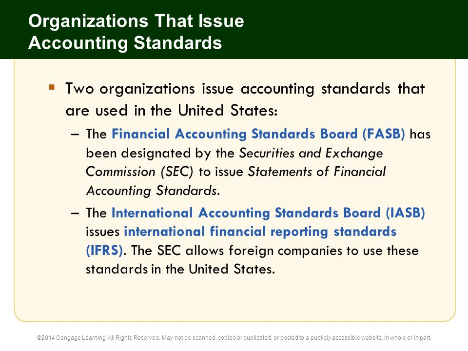 1 Accounting Principles and the Financial Statements - ppt download