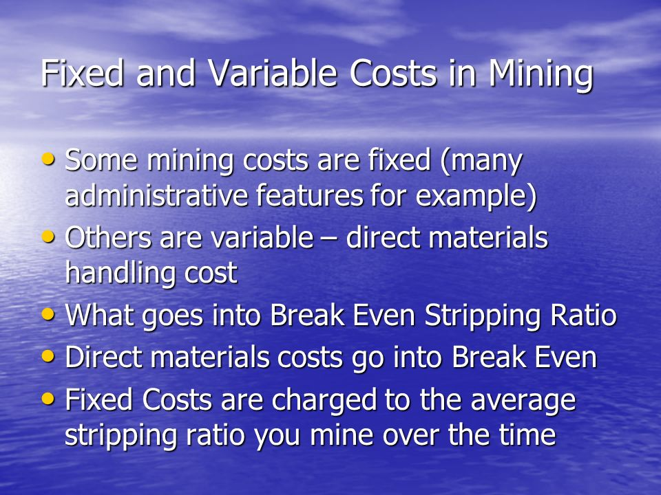 Understanding Fixed and Variable Costs and Your Break-Even Point