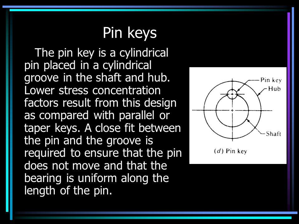 Pin keys