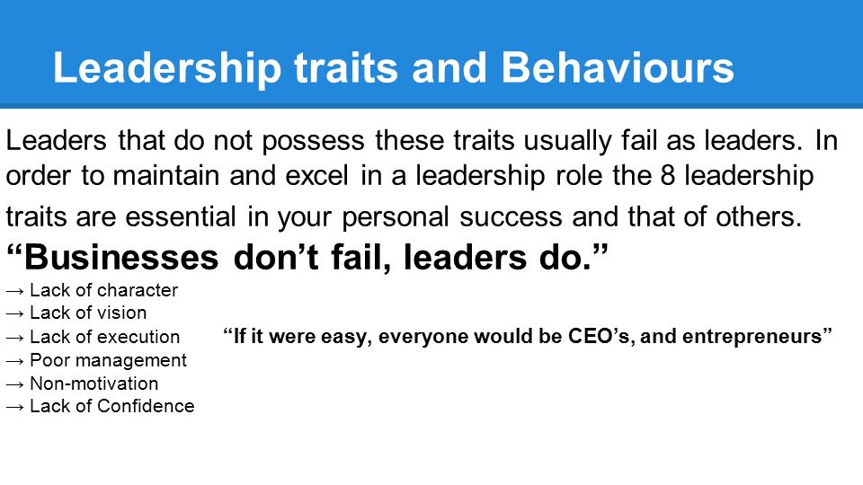 The Top Signs of Poor Leadership