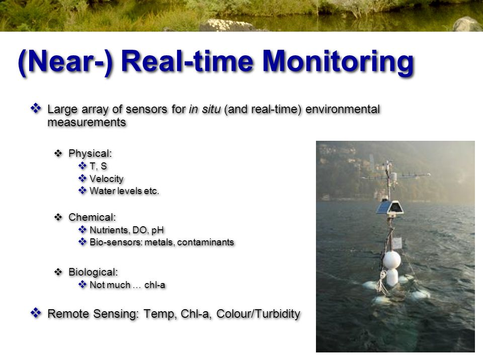 (Near-) Real-time Monitoring