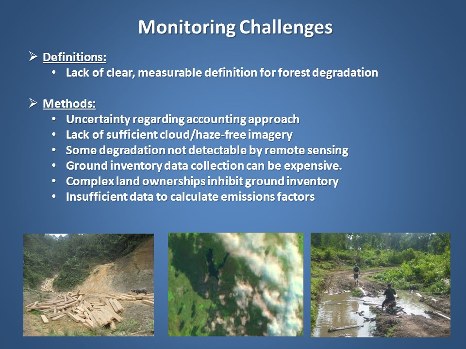 Monitoring Challenges