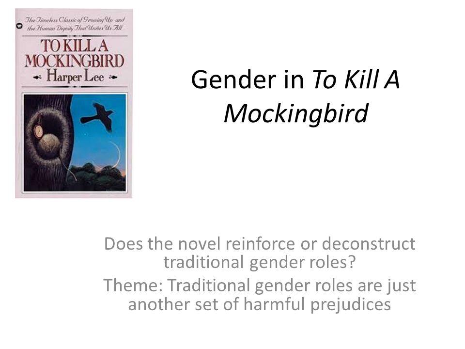 gender to kill a mockingbird