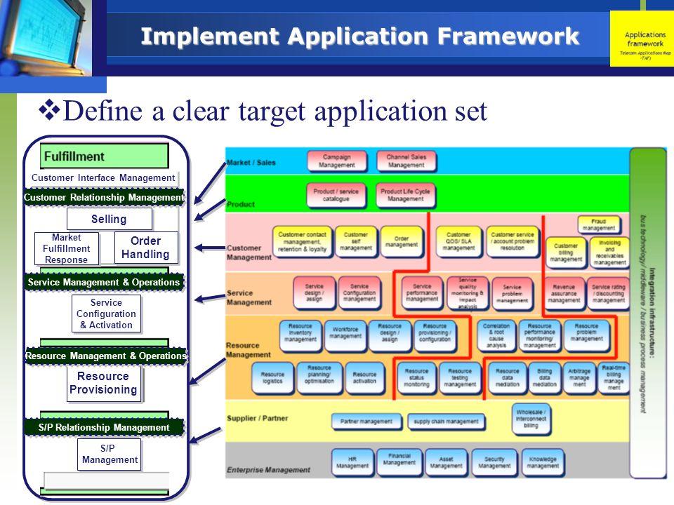 Implement Application Framework