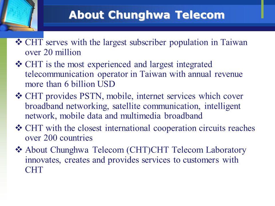 About Chunghwa Telecom
