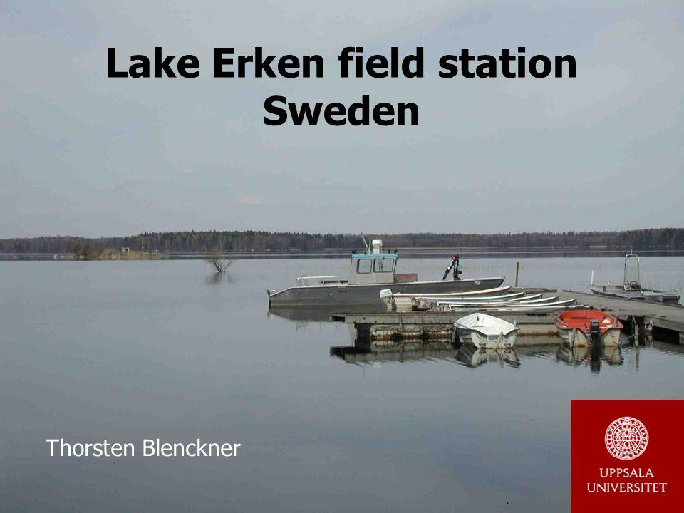 Lake Erken field station Sweden