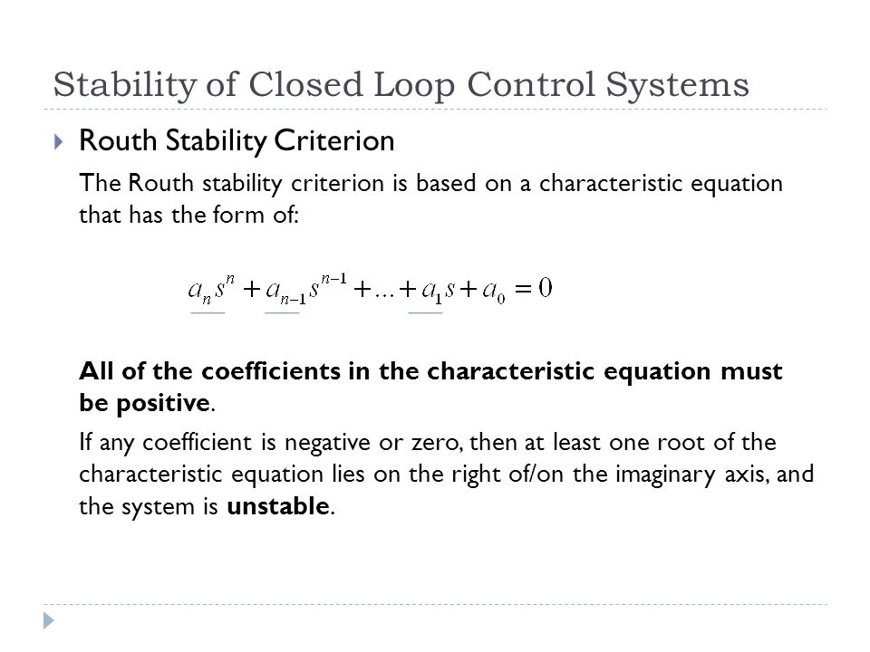 closed loop control system pdf