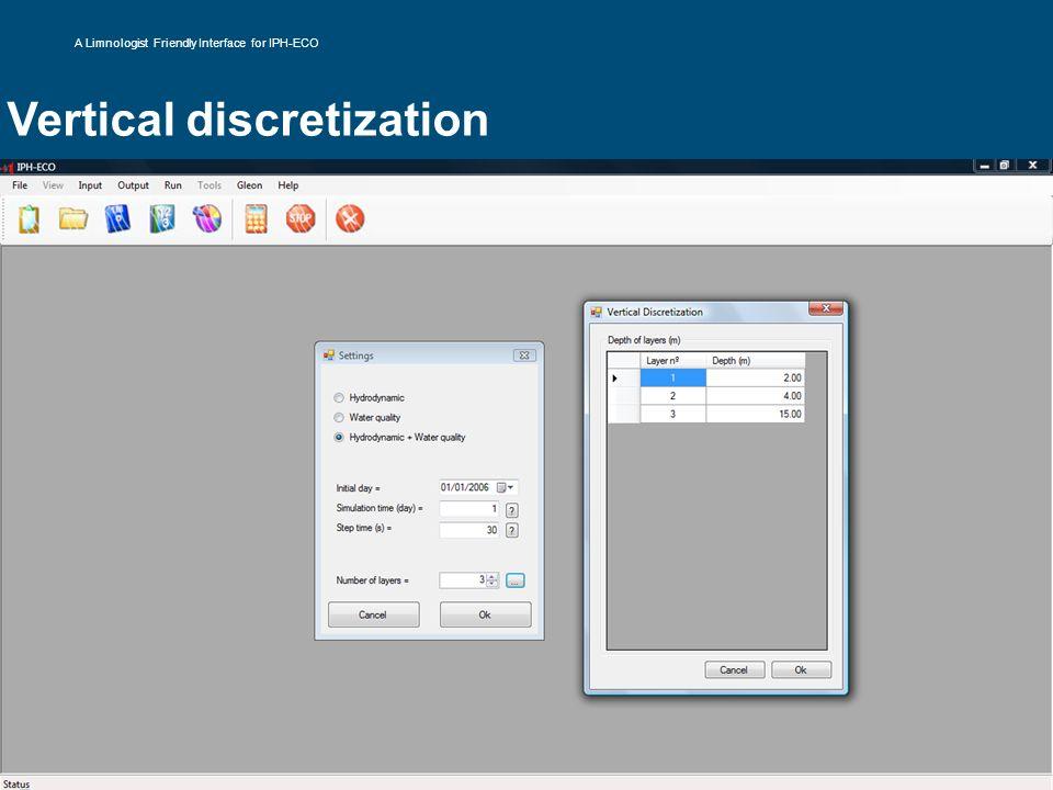 Vertical discretization