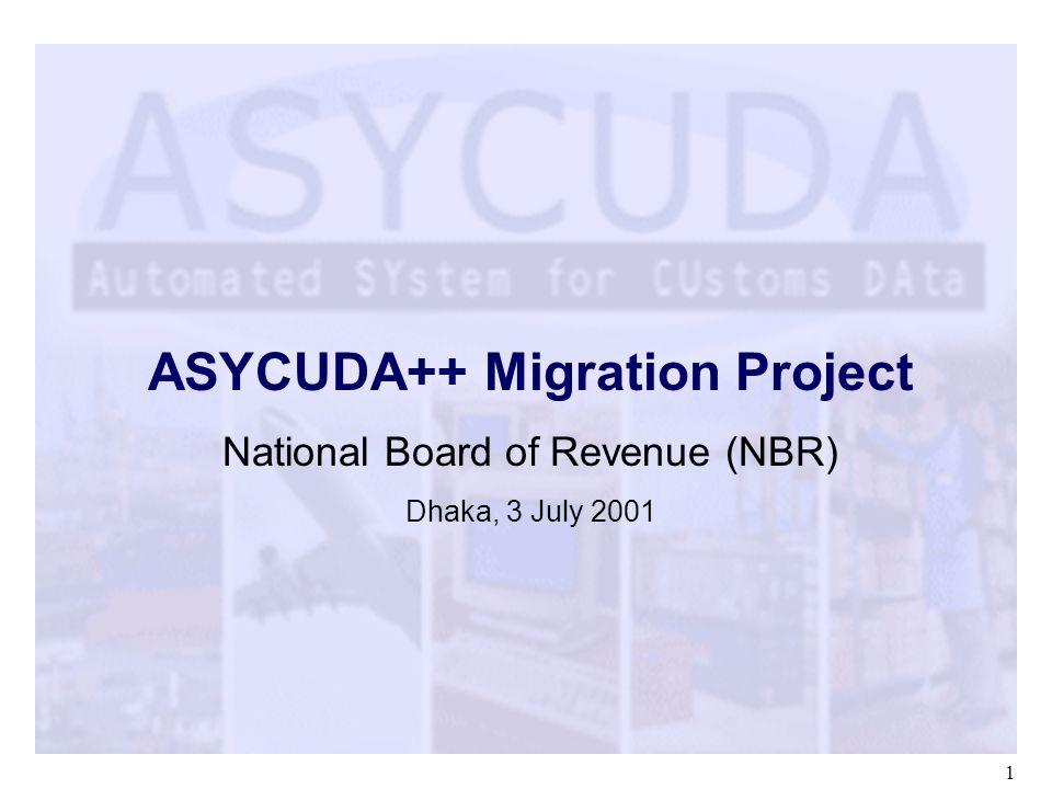 ASYCUDA++ Migration Project