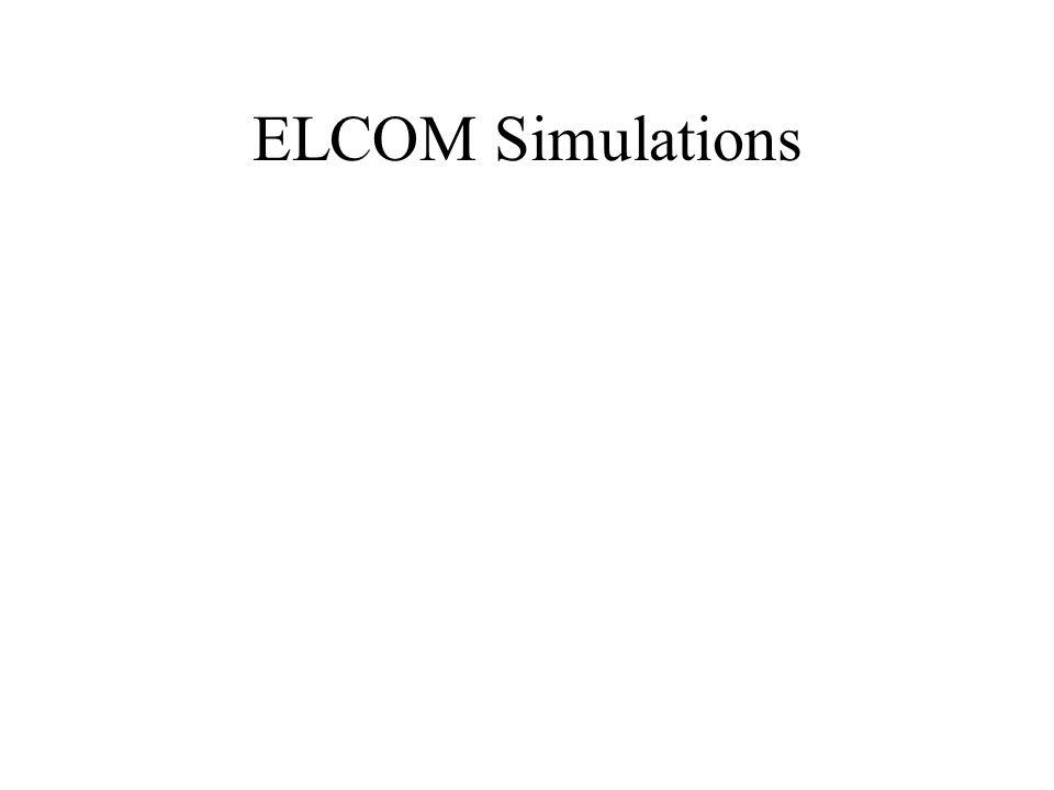 ELCOM Simulations