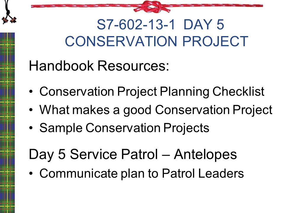 Conservation Project Planning ppt video online download – Sample Project Planning