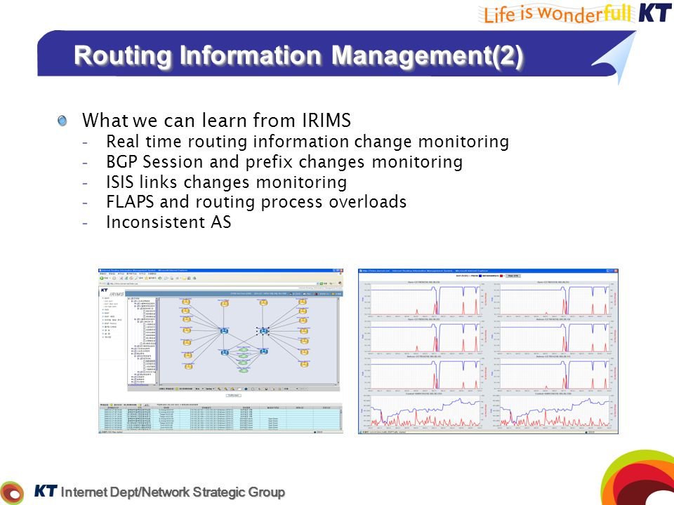 Routing Information Management(2)