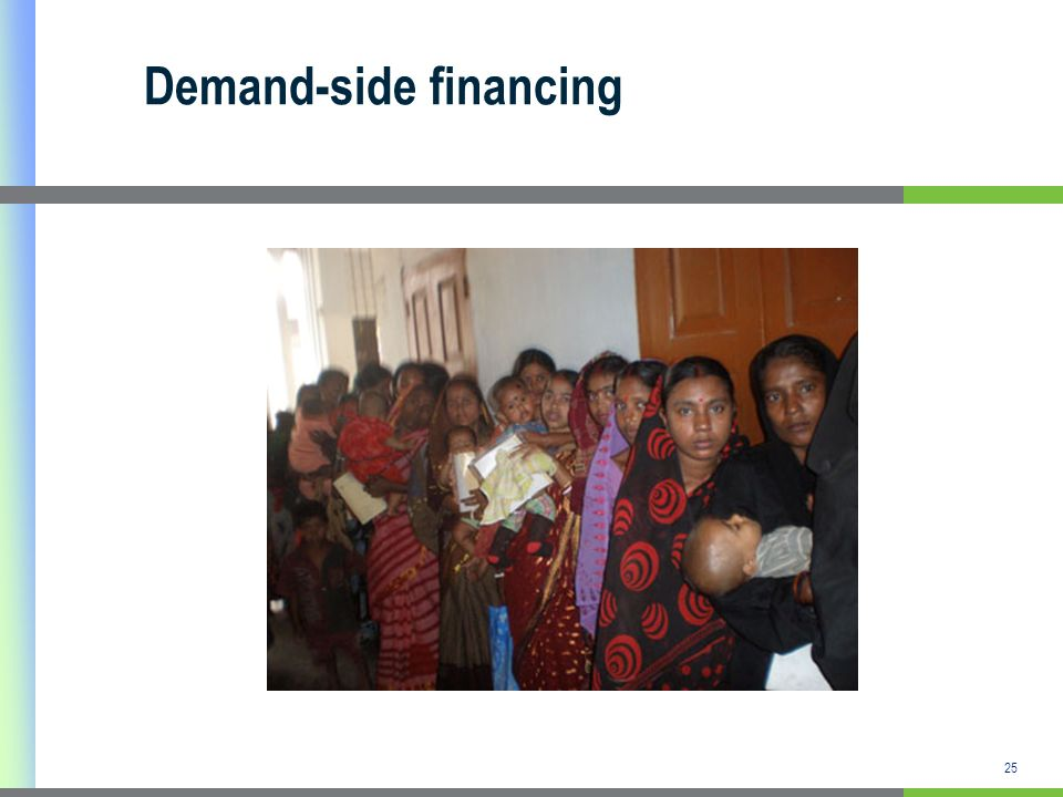Demand-side financing
