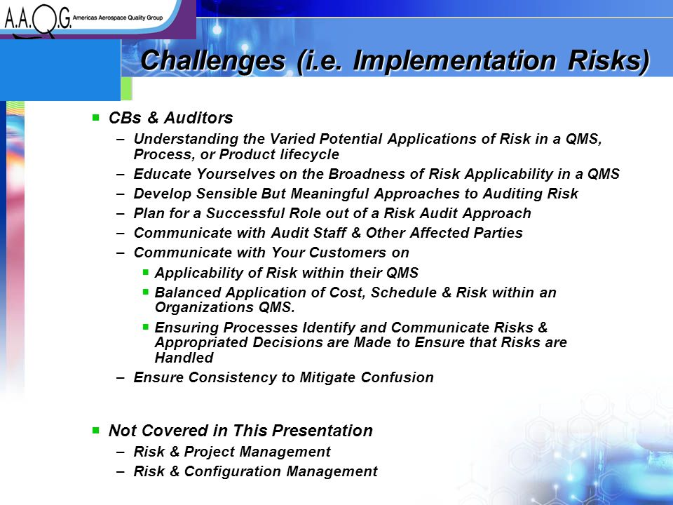 challenges and risk in a project management pdf
