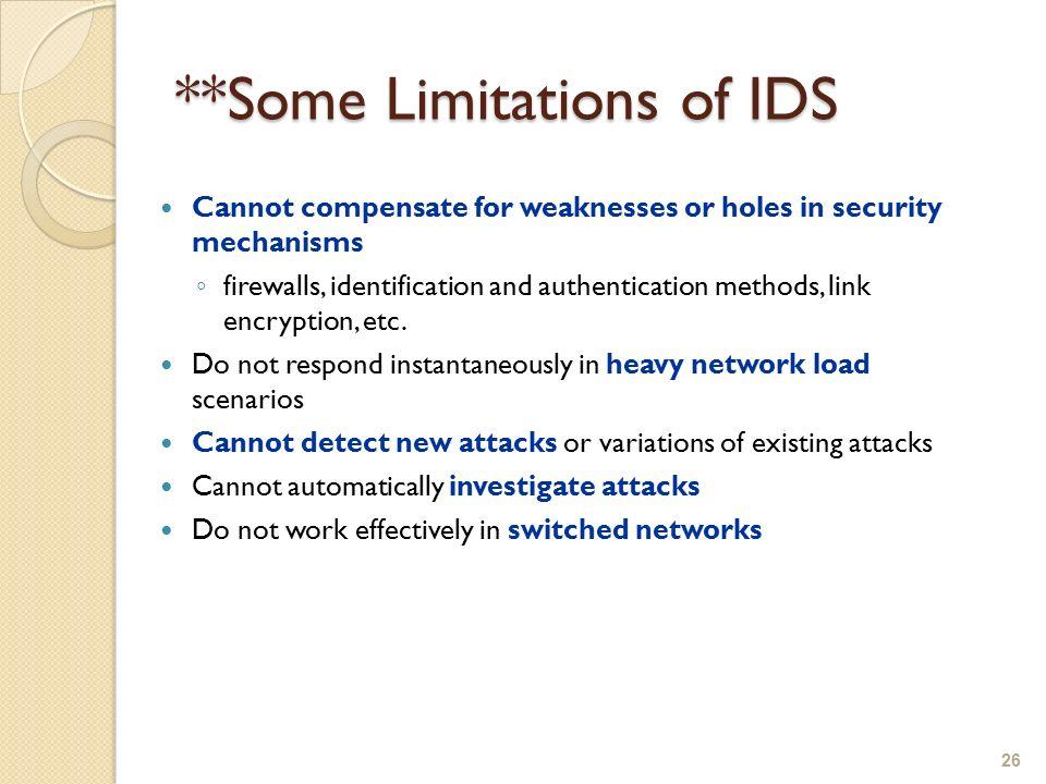evaluating mechanisms for investigating attacks