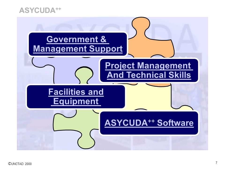 Government & Management Support Project Management