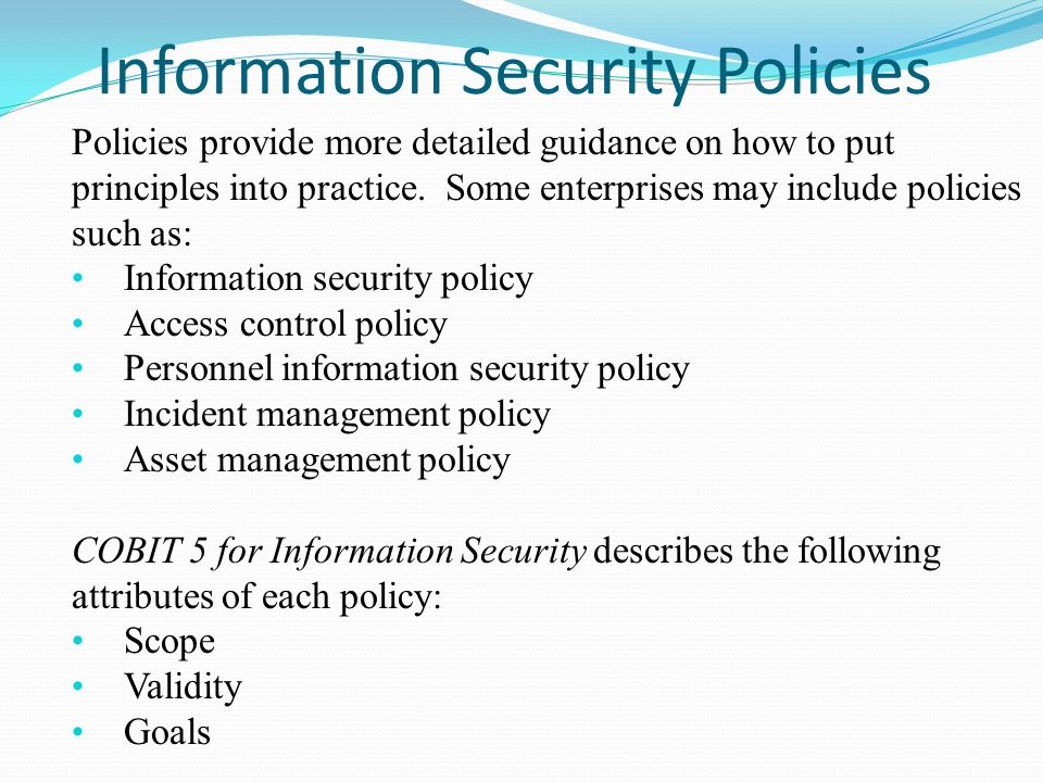 information security incident management policy pdf