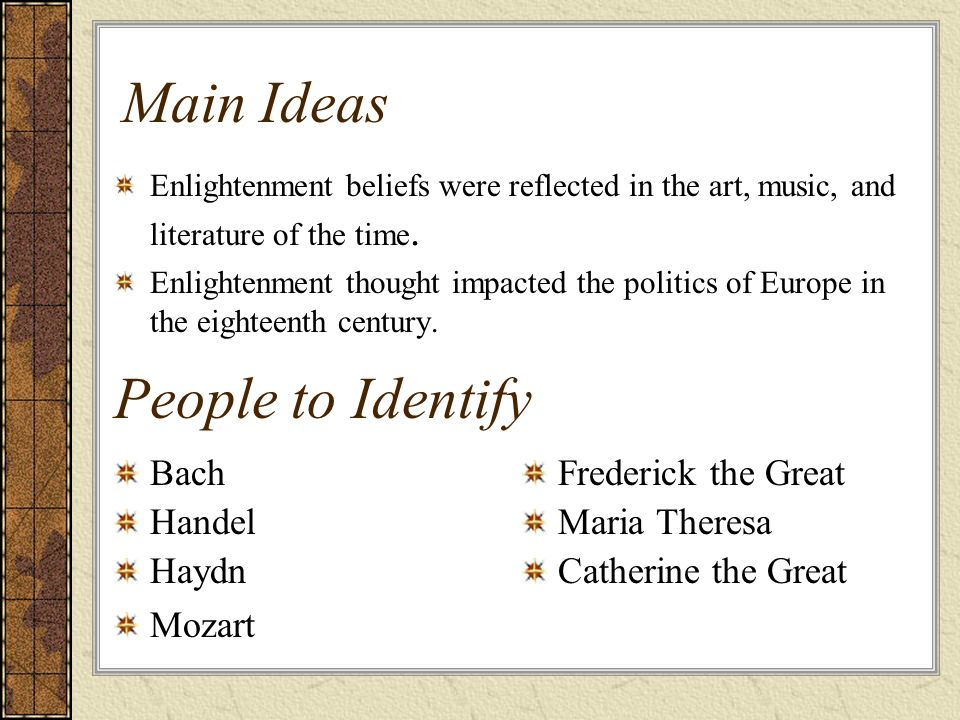 Haydn's Impact on the Enlightenment