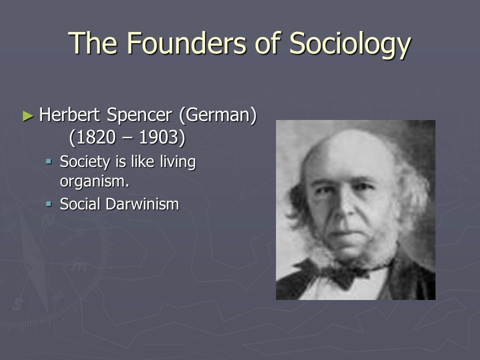 The Founders of Sociology