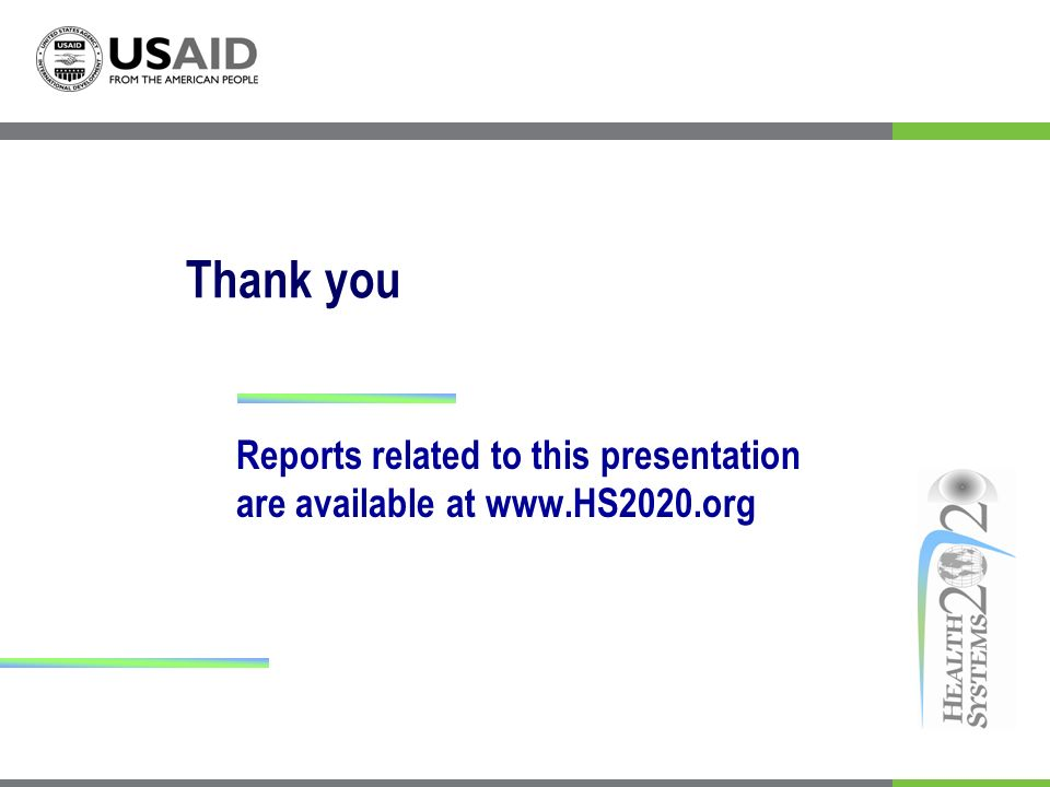 Reports related to this presentation are available at www.HS2020.org