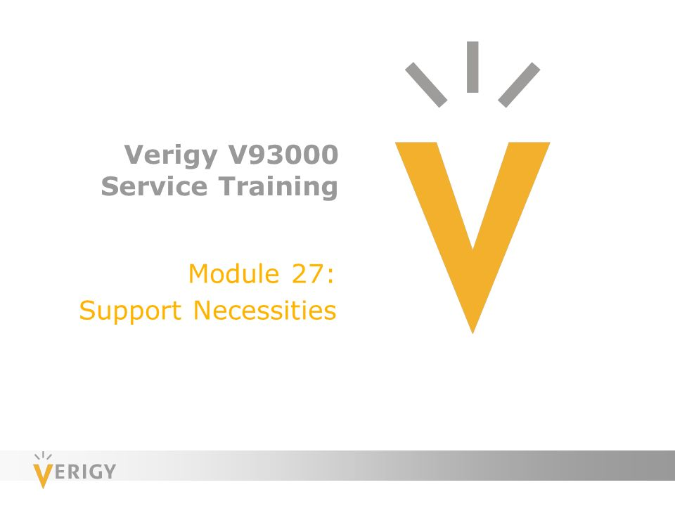 Verigy v93000 service training ppt video online download fandeluxe Choice Image