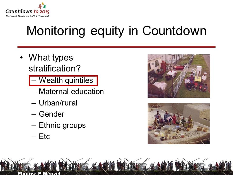 Monitoring equity in Countdown