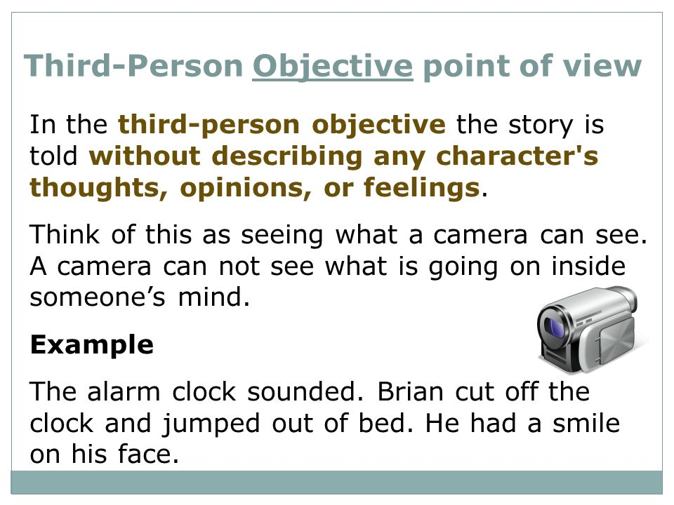 Narration Point Of View Ppt Video Online Download