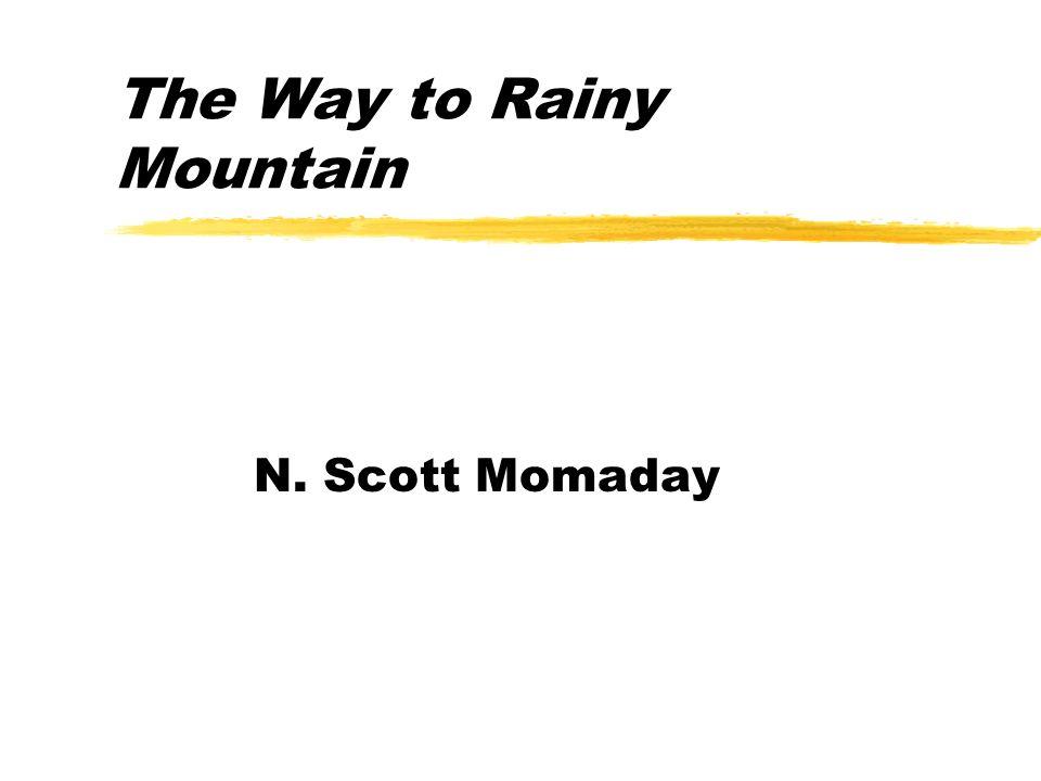 the way to rainy mountain themes