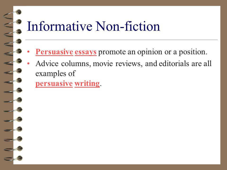 Informative Non-fiction