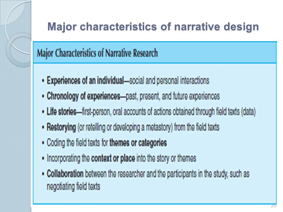 what are features of narrative Narrative writing is the most traditional form of creative writing: it's telling a story the trick to getting high marks is not to tell a story in the traditional way think about interesting ways to tackle the different aspects of the narrative is it first person is someone in the story .