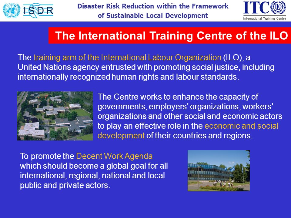 The International Training Centre of the ILO