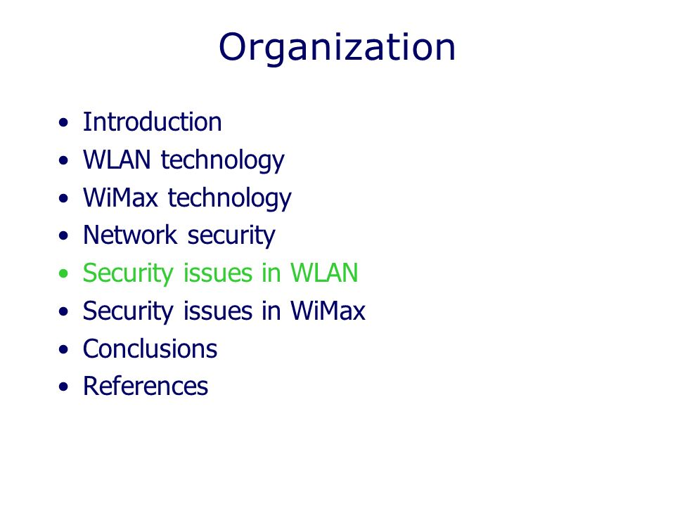 an introduction to wimax An introduction to wimax technology, applications and terminology this article is the first in a five-part wimax tutorial series the series begins by introducing wimax technology, applications and terminology.