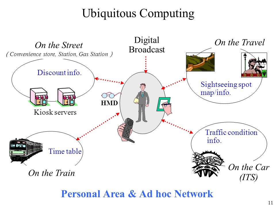 Personal Area & Ad hoc Network