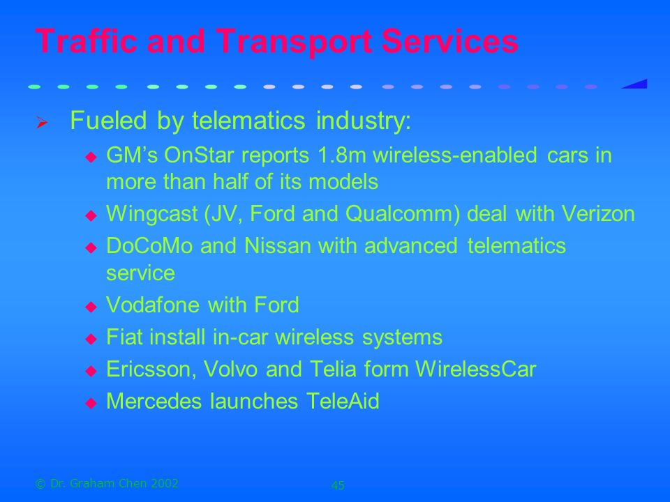 Traffic and Transport Services