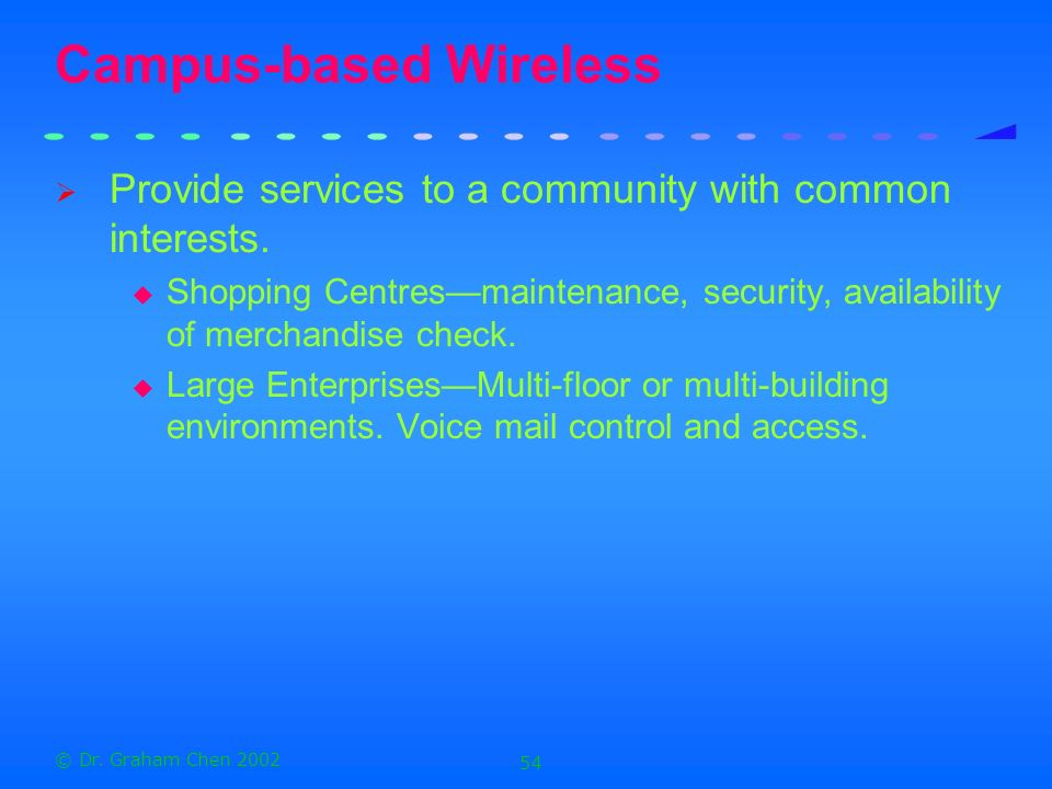 Campus-based Wireless