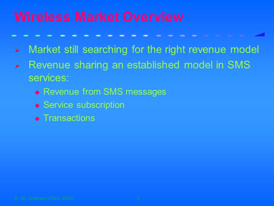 Wireless Market Overview