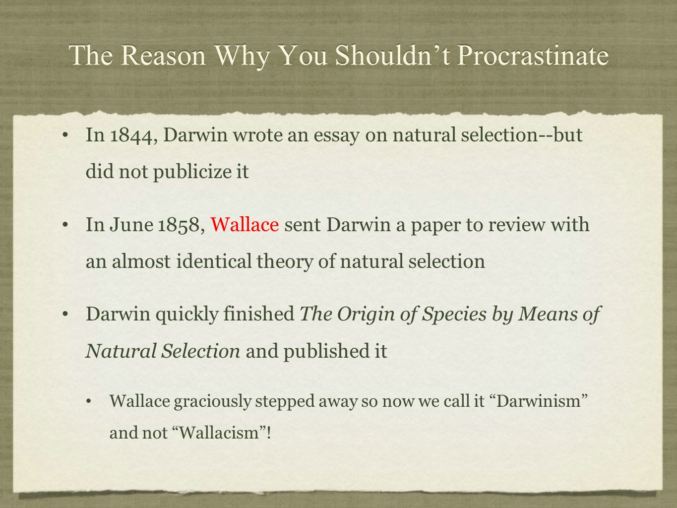 descent modification darwinian view of life ppt video  16 the