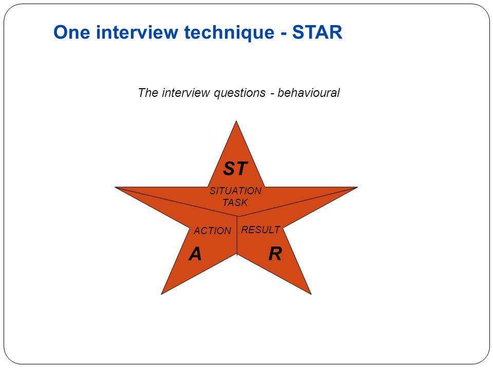 interview star technique