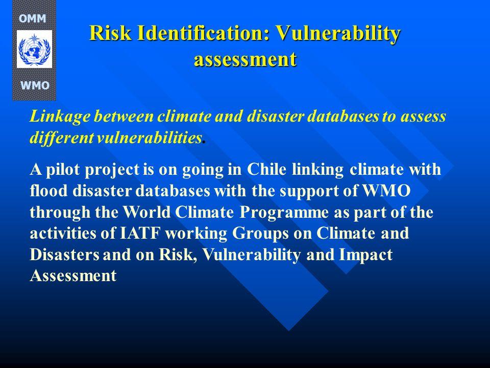 Risk Identification: Vulnerability assessment