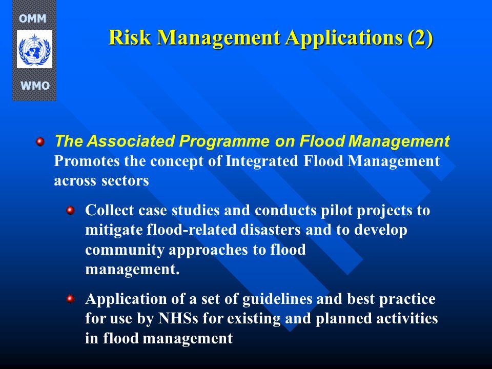 Risk Management Applications (2)
