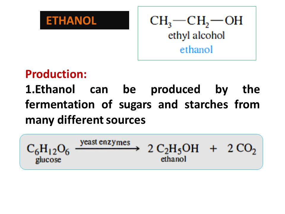 Why Is Ethanol A Liquid At Room Temperature