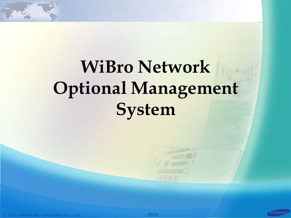 Optional Management System