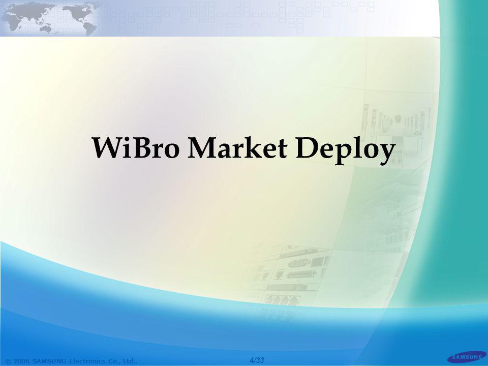 WiBro Market Deploy