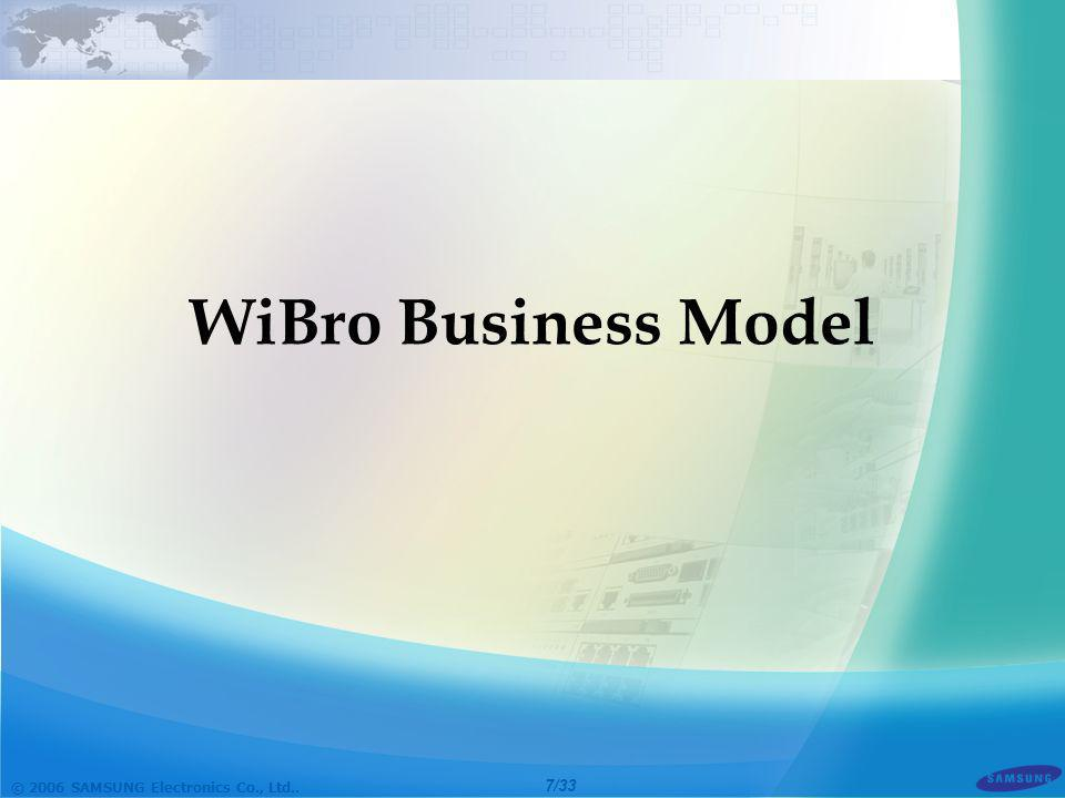 WiBro Business Model