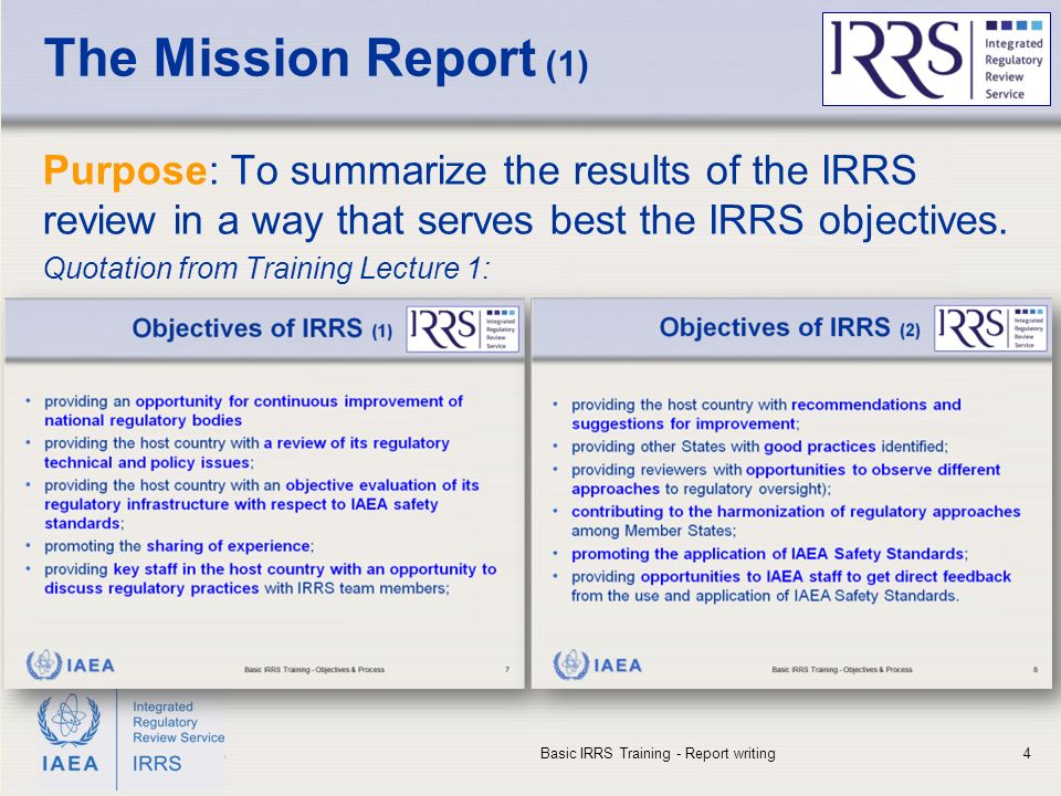 Basic Irrs Training Lecture 7 - Ppt Download