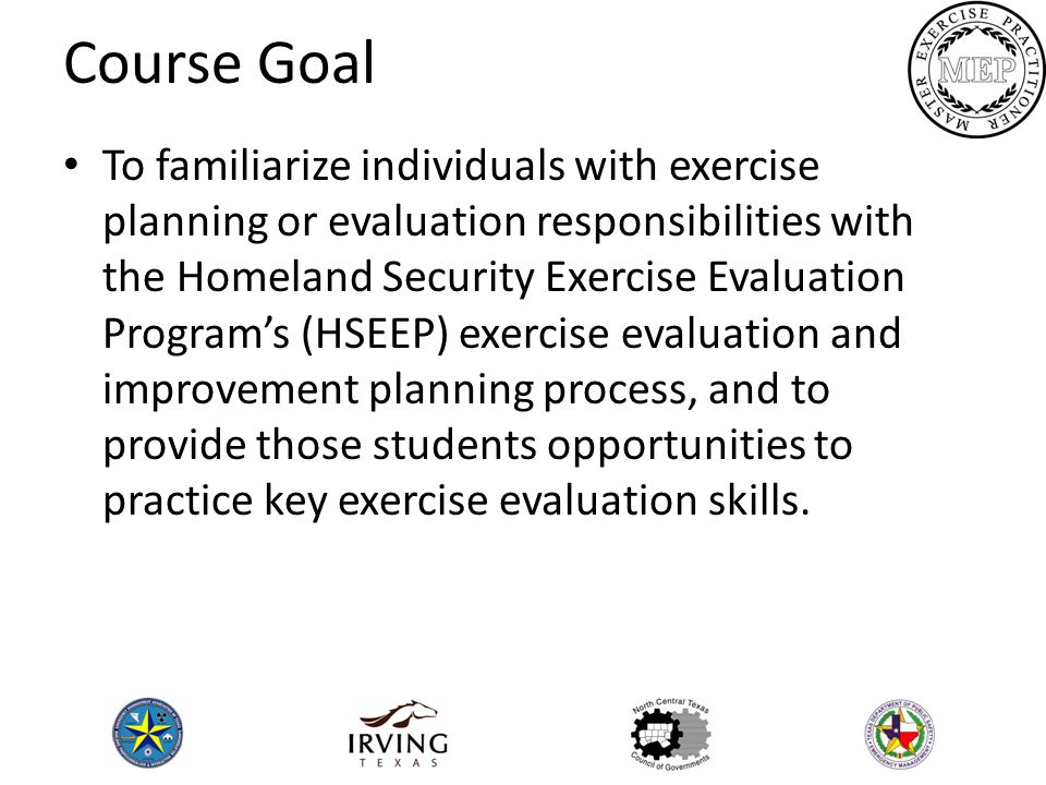 course goal Whether developing a program, course, or module comprised of a series of class sessions, well-articulated course goals and learning objectives provide a roadmap through the course content.