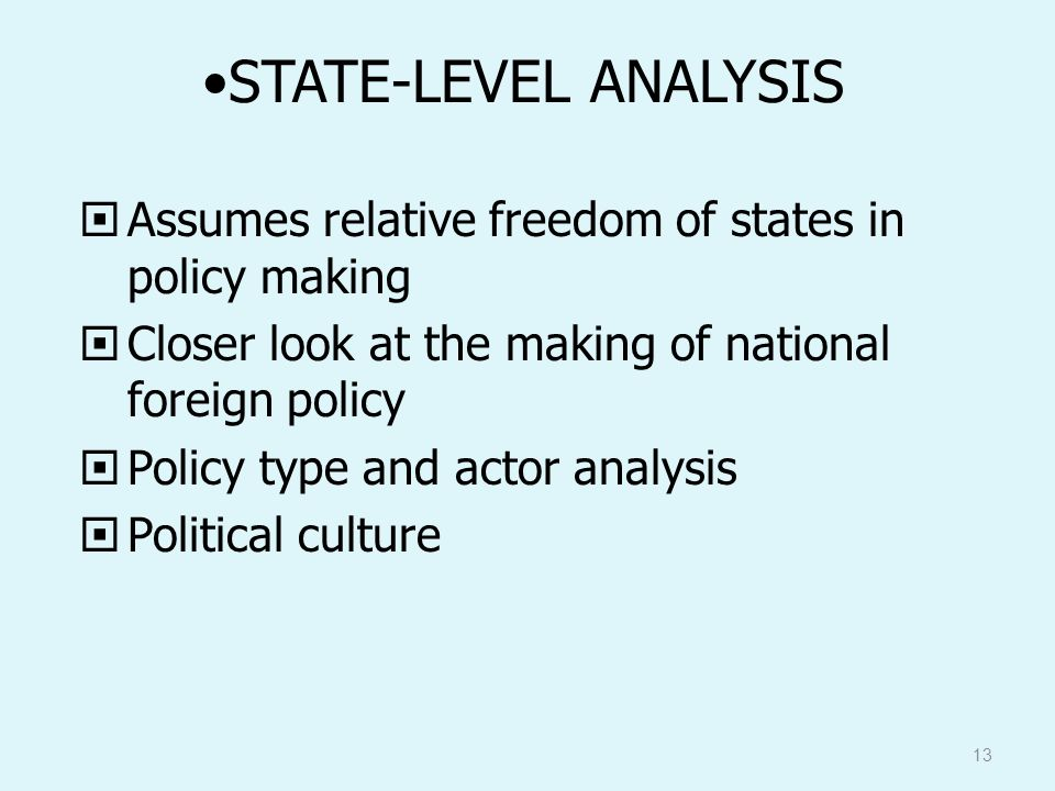 asses the relative influence of government Stakeholder analysis (in conflict resolution, project management, and business administration) is the process of assessing a system and potential changes to it as they relate to relevant and.