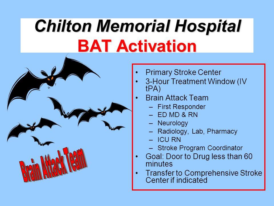 Chilton Memorial Hospital BAT Activation