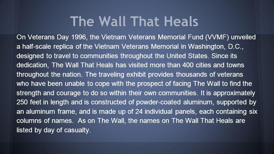 Vietnam Veterans Memorial - Ppt Video Online Download