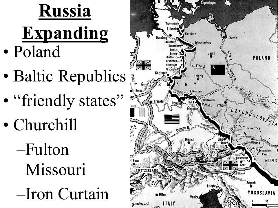 Russia Expanding Poland Baltic Republics friendly states Churchill